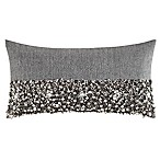 kate spade new york Supernova Oblong Throw Pillow in Charcoal