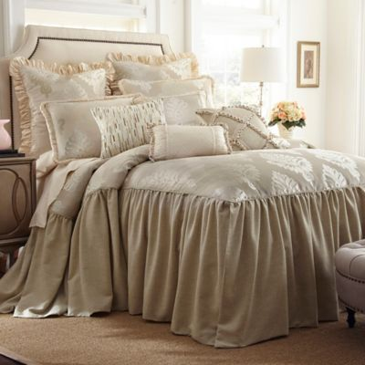 Austin Horn Classics Jacqueline King Bedspread in Cream. Buy White Chenille Bedspreads from Bed Bath   Beyond