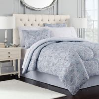 Royal Ascot 8-Piece Full Comforter Set in Blue