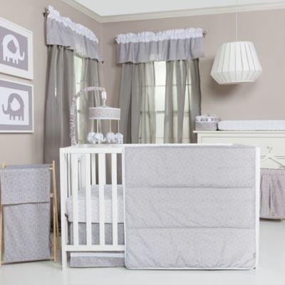 trend lab grey and white circles crib bedding u003e trend lab grey and white