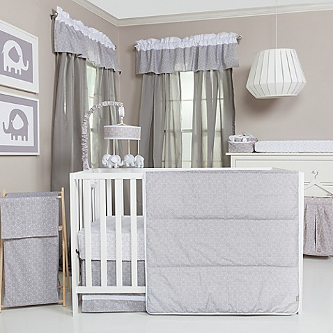 Grey Crib Bedding