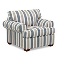 Klaussner® Lady Chair in Cayman Breeze Stripe