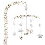 The Peanut Shell® Stars Musical Mobile in Gold