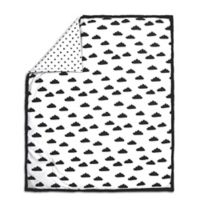 The Peanut Shell® Cloud Quilt in Black/White