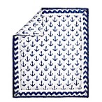 The Peanut Shell® Anchor Quilt in Navy