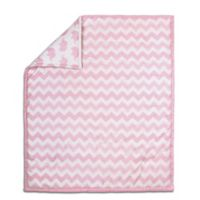 The Peanut Shell® Chevron Quilt in Pink