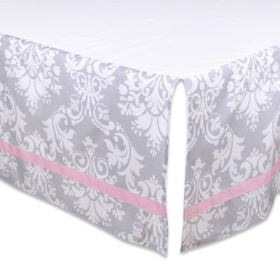 Buy Pink White Bed Skirt From Bed Bath Amp Beyond