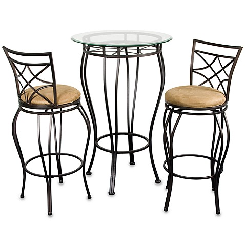 Pub Table And Chairs 3 Piece Set Bed Bath Beyond