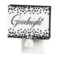 Goodnight Canvas Nightlight