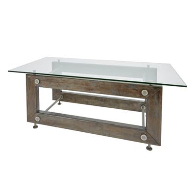 Silverwood Knox Industrial Collection Coffee Table In Metal