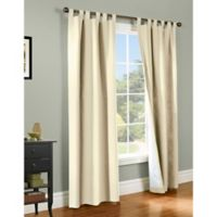 Thermalogic® Weathermate 84-Inch Tab Top Window Curtain Panel Pair in Natural