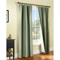 Thermalogic® Weathermate 54-Inch Tab Top Window Curtain Panel Pair in Sage