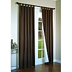 Thermalogic® Weathermate 54-Inch Tab Top Window Curtain Panel Pair in Chocolate