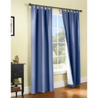 Thermalogic® Weathermate 95-Inch Tab Top Window Curtain Panel Pair in Blue