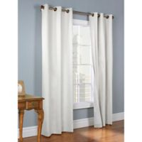 Thermalogic® Weathermate 54-Inch Grommet Top Window Curtain Panel Pair in White