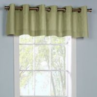 Thermalogic® Weathermate Grommet Top Window Valance in Sage