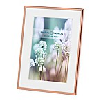 Swing Design Essex 4-Inch x 6-Inch Metal Picture Frame in Rose Gold