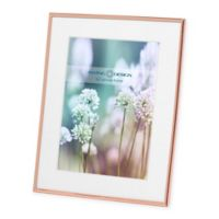 Swing Design Essex 5-Inch x 7-Inch Metal Picture Frame in Rose Gold