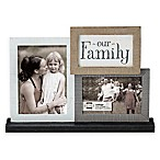 Prinz 2-Photo Neutrals Mantel Family Collage