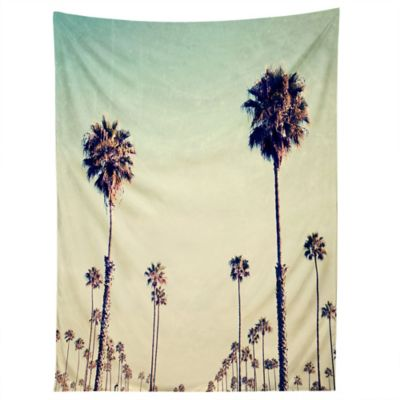 deny designs bree madden california palm trees tapestry - Palm Tree Decor