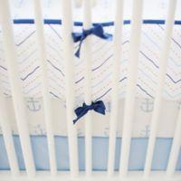 My Baby Sam First Mate 4-Piece Crib Bumper Set