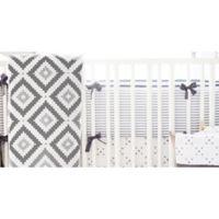 My Baby Sam Imagine 4-Piece Crib Bumper Set