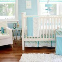 My Baby Sam Follow Your Arrow 3 Piece Crib Bedding Set In Aqua