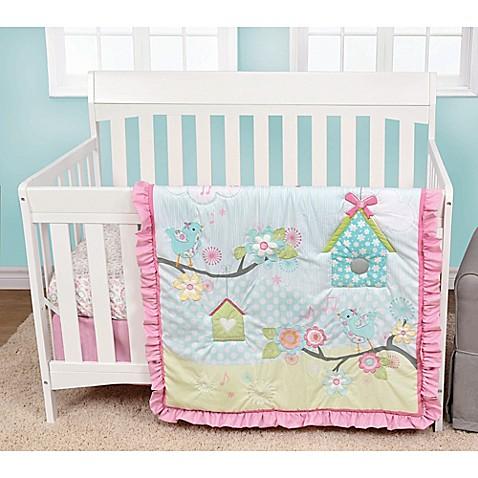 Baby S First By Nemcor Garden Song 4 Piece Crib Bedding