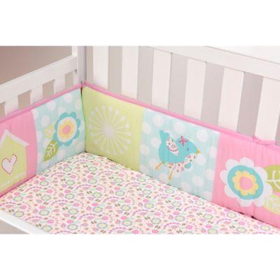 Bumpers U003e Babyu0027s First By Nemcor Garden Song 4 Piece Crib Bumper Set