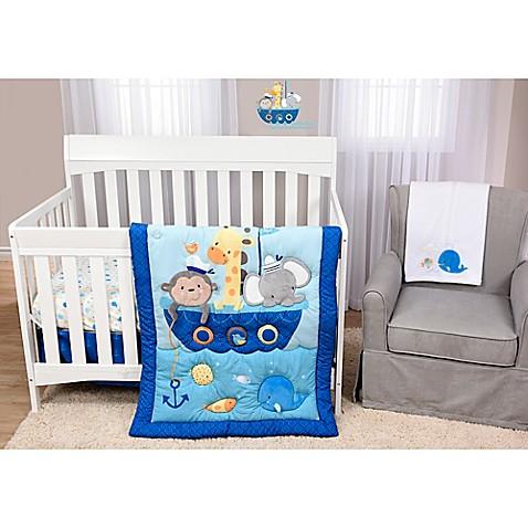 Genial Babyu0027s First By Nemcor Ahoy There! 5 Piece Crib Bedding Set