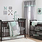 The Peanut Shell® Woodland 4-Piece Crib Set in Mint/Grey