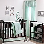 The Peanut Shell® Tribal 4-Piece Crib Bedding Set in Mint