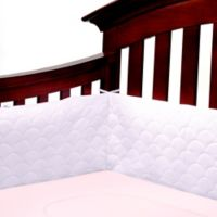 Ubimed® Lifenest™ Breathable Padded Mesh Crib Bumper in Lilac