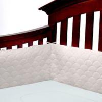 Ubimed® Lifenest™ Breathable Padded Mesh Crib Bumper in Grey