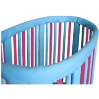 Go Mama Go Designs® Wonder Bumpers Teething Guards for Stokke® Cribs in Fuchsia/Turquoise
