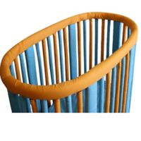 Go Mama Go Designs® Wonder Bumpers Teething Guards for Stokke® Cribs in Orange/Aqua