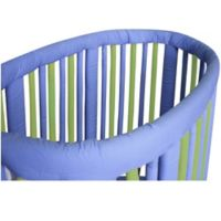 Go Mama Go Designs® Wonder Bumpers Teething Guards for Stokke® Cribs in Lime/Periwinkle