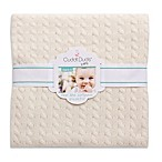 Cuddl Duds® Cable Knit Baby Blanket in Ivory