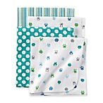 carter's® Monster 4-Pack Blankets in Teal