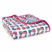 aden + anais® Flip-Side Dream Blanket in Blue/Pink
