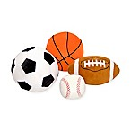 Melissa and Doug® 4-Piece Sports Throw Pillow Set