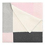 Elegant Baby® Patchwork Knit Blanket in Pink