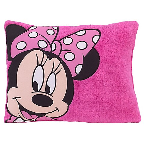 Disney 174 Minnie Mouse Toddler Pillow Bed Bath Amp Beyond