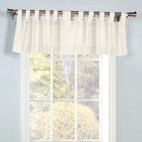 Thermalogic Weathermate Tab Top Window Valance In White
