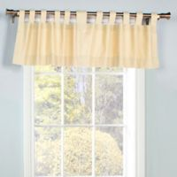 Thermalogic® Weathermate Tab Top Window Valance in Natural