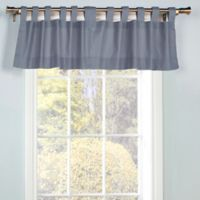 Thermalogic® Weathermate Tab Top Window Valance in Blue