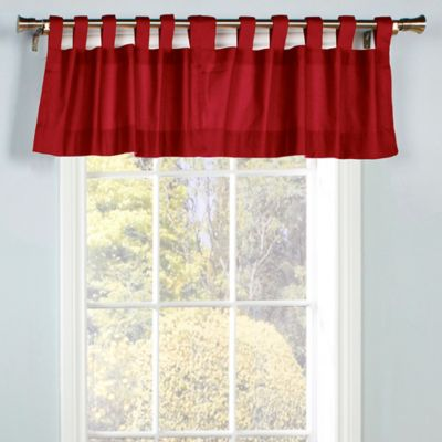 Buy Burgundy Curtain Valance From Bed Bath Beyond