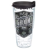 Tervis® Wedding Groom Chalkboard 24 oz. Wrap Tumbler with Lid