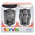 Tervis® Wedding Bride and Groom Chalkboard 16 oz. Wrap Tumbler with Lid
