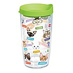 Tervis® Flat Art Cat Breed 16 oz. Wrap Tumbler